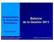 Gestión 2011 - Buenos Aires Ciudad