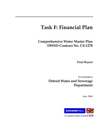 Provisional specification detroit water and sewerage department task f financial plan detroit water and sewerage department publicscrutiny Image collections