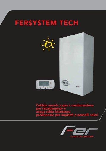 Caldaia Ferroli Fersystem Tech 25 - Certened