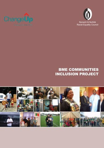BME COMMUNITIES INCLUSION PROJECT - Equal But Different