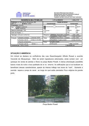 AV. Visconde de Albuquerque 862 - rio.rj.gov.br