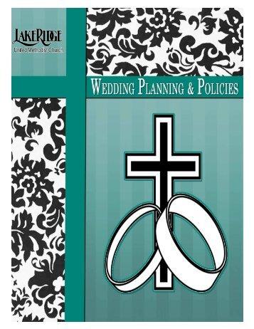 Wedding Manual 2011.pub - LakeRidge United Methodist Church