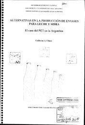 Alternativas en la Producción de Envases para Leche y Sidra