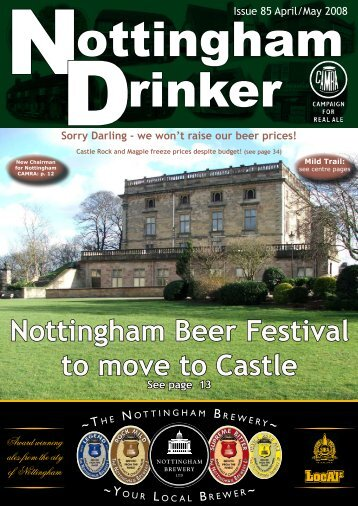 Nottingham Beer Festival to move to Castle - Nottingham CAMRA