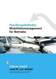 Handlungsleitfaden Mobilitätsmanagement für ... - effizient mobil