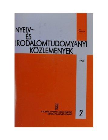 nyelv - Szabó T. Attila Nyelvi Intézet