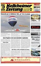 Romantik pur in Kelkheim - Kelkheimer Zeitung