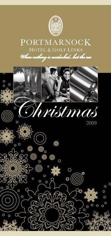 christmas party night's - Portmarnock Hotel and Golf Links
