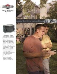 Briggs & Stratton 7 kW propane/natural gas