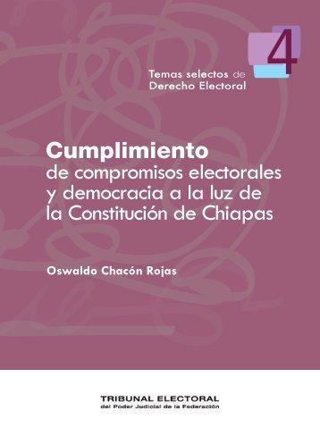 Cumplimiento de compromisos electorales y democracia a la luz de ...