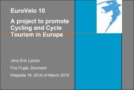 EuroVelo 10 A project to promote Cycling and Cycle ... - Baltic Cycle.