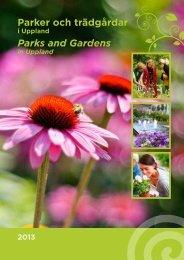 Parker och trädgårdar (pdf, 4 MB) - Destination Uppsala