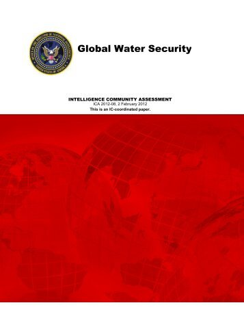 Special Report_ICA Global Water Security