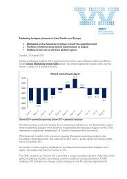 Marketing budgets plummet in Asia Pacific and Europe - Warc