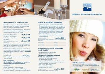 Silvester im DORFHOTEL Boltenhagen ab 406 00 EUR ...