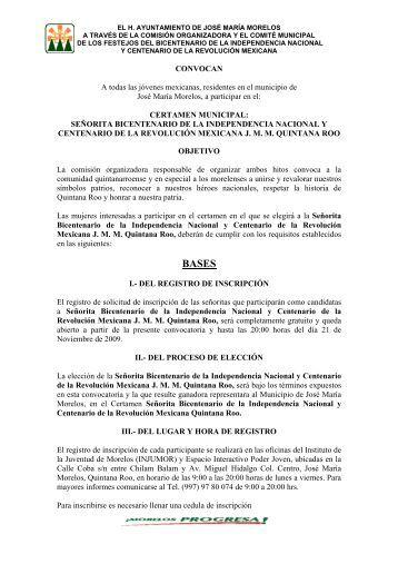 Señorita Bicentenario de la Independencia - UIMQRoo