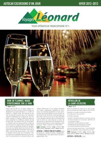 Edition Hiver 2012-2013 - Voyages Léonard