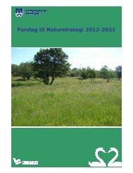 Forslag til Naturstrategi 2012-2021 - Fredensborg Kommune