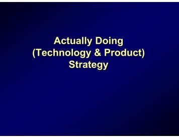 Actually Doing Actually Doing (Technology & Product) (Technology ...