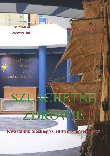 szlachetne zdrowie - Śląskie Centrum Chorób Serca w Zabrzu