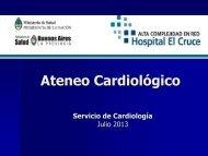 Ver ateneo cardiológico 2-7-13 - Servicio de Cardiología