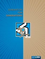 GENERATION FOR GENERATIONS - Basin Electric Power ...