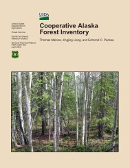 Cooperative Alaska Forest Inventory - USDA Forest Service