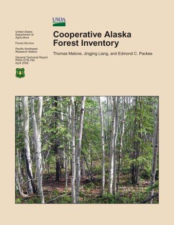 Cooperative Alaska Forest Inventory - USDA Forest Service