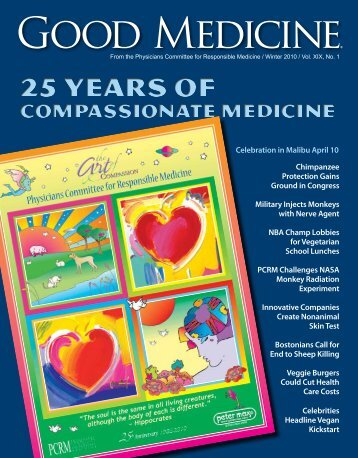 Good Medicine - Physicians Committee for Responsible Medicine