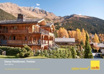 Daray Penthouse, Verbier - Ski chalets for sale