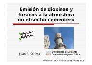 Dioxinas - Recupera residuos en Cementeras