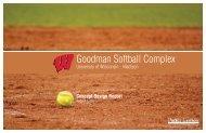 Goodman Softball Complex (pdf) - Facilities, Planning, & Management