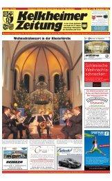 Frohe Weihnachten - Kelkheimer Zeitung