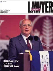 Fall 1992 – Issue 45 - Stanford Lawyer - Stanford University