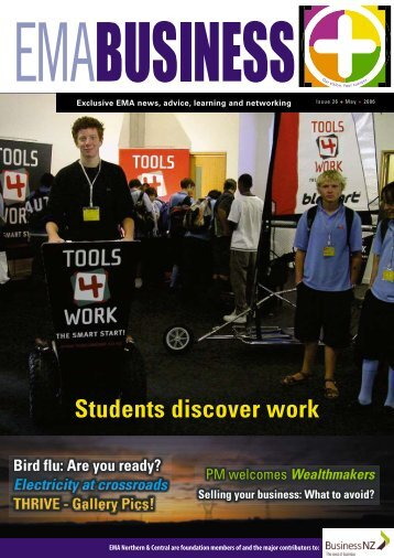 Students discover work - EMA