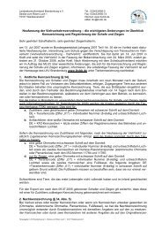 Informationen... - Landeskontrollverband Brandenburg eV