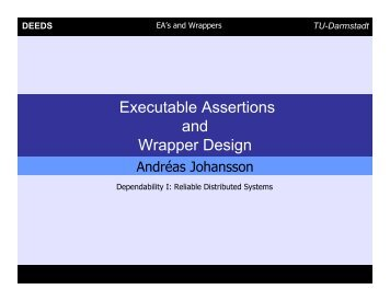 Executable Assertions and Wrapper Design
