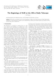 The Beginnings of VLBI at the 100-m Radio Telescope