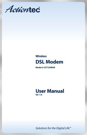Wireless DSL Modem - Comspan Communications