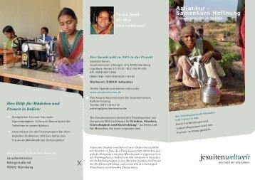 Ashankur - Samenkorn Hoffnung - Jesuitenmission