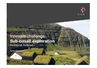 Sub-basalt exploration Addtitional information.pptx - Statoil Innovate