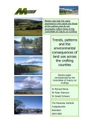 Trends, patterns and the environmental consequences of land use ...