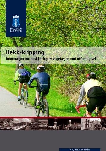 Les brosjyren for ytterligere informasjon og de ulike frisiktsonene ...