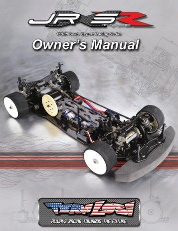 JRXS Type R Owners Manual - TLR