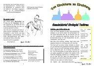 Gemeindebrief Herbst.pub - Kirchspiel Tschirma