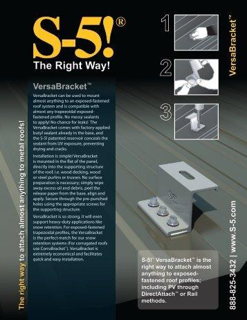 Download VersaBracket Brochure AEUR PDF