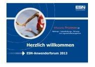 ESN 2013 AWF GIS FFA Gelsenwasser - ESN realis
