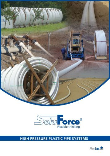 high pressure plastic pipe systems offshore - Soluforce