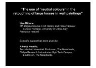 """The use of 'neutral colours' in the retouching of large ... - Create!"
