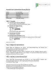 Protokoll der 4. Ordentlichen Sitzung 2012/13 TOP 0 ... - studiy